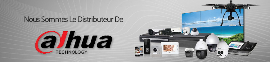 Les caméras IP et dômes ptz ip Dahua de vidéosurveillance