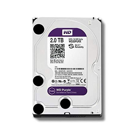 WD PURPLE 2To